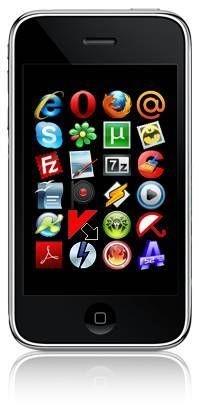 Скрипт для uСoz - бесплатный софт блок в дизайне iPhone